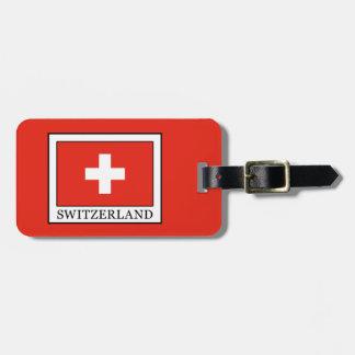Switzerland Luggage Tag