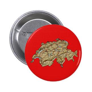 Switzerland Map Button