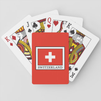 Switzerland Playing Cards