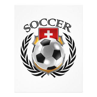 Switzerland Soccer 2016 Fan Gear 21.5 Cm X 28 Cm Flyer