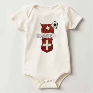 Switzerland Soccer - World soccer fans 2014 Baby Bodysuit