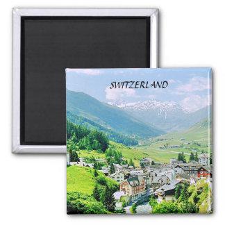 SWITZERLAND SQUARE MAGNET