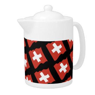 Switzerland Suisse Svizzera Svizra tea jug