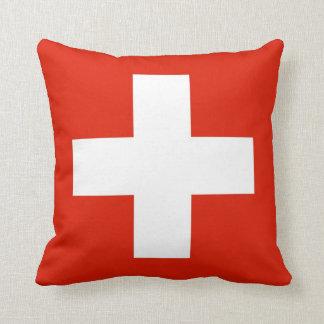 switzerland swiss country flag pillow