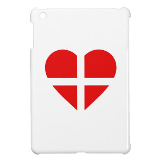 Switzerland/Swiss flag-inspired Hearts iPad Mini Cover
