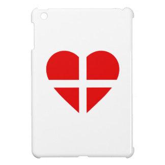 Switzerland/Swiss flag-inspired Hearts iPad Mini Covers