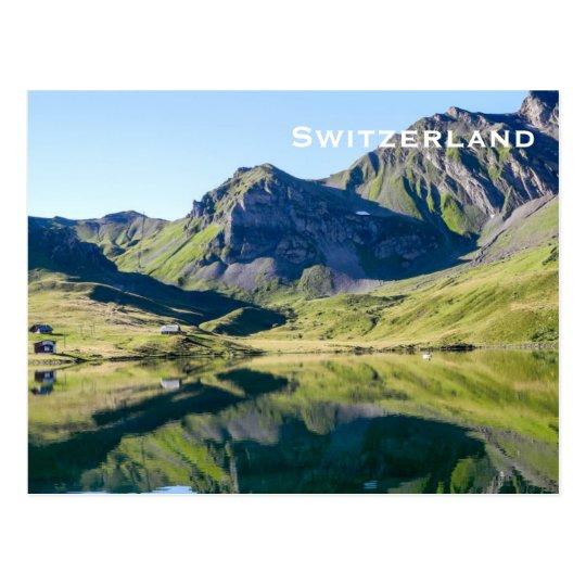 Switzerland Vintage Travel Tourism Add Postcard