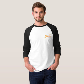 SWJ - Men's Basic 3/4 Sleeve Raglan T-Shirt