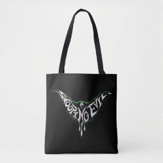 Swooping Evil Creature Graphic Tote Bag