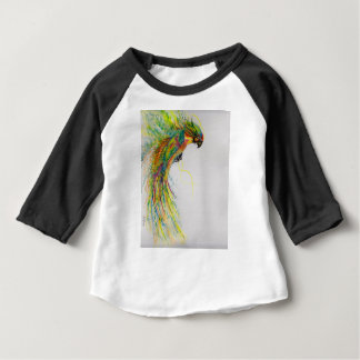 Swooping Parrot Baby T-Shirt