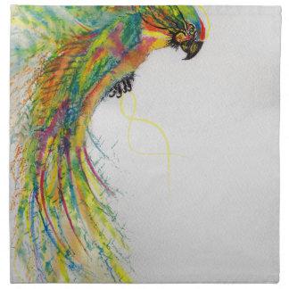 Swooping Parrot Napkin