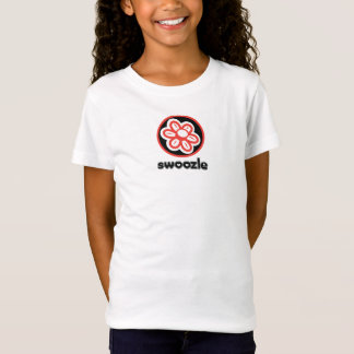 Swoozle Bloom Girls' Fitted Babydoll T-Shirt