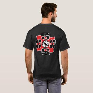 Swoozle Brand Men's Basic Dark T-Shirt