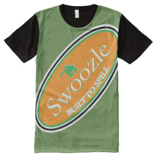 Swoozle Soil It Green All-Over Printed T-Shirt