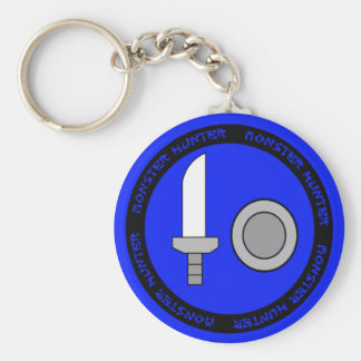 Sword And Shield Emblem Key Chain