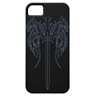 Sword and wings tribal cool awesome tattoo art fan case for the iPhone 5