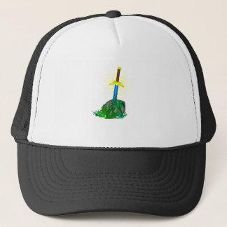 Sword in Stone Trucker Hat
