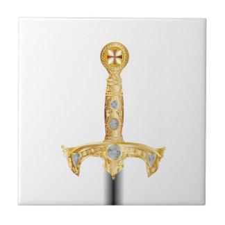 Sword of an Knight Templar Tile