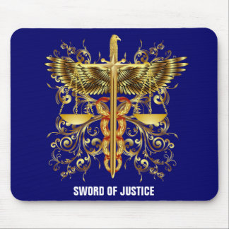 Sword of Justice Mouse Pad