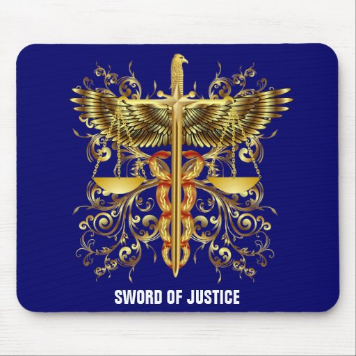 Sword of Justice Mouse Pads