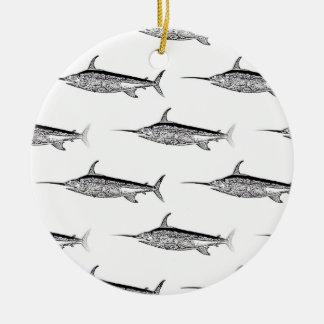 Swordfish Hanging Ornament