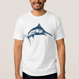 Swordfish Motif Clothes Tshirts