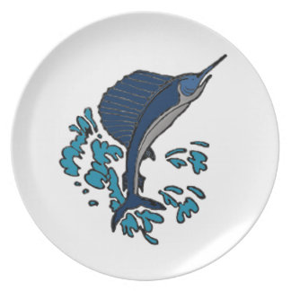 Swordfish Party Plate