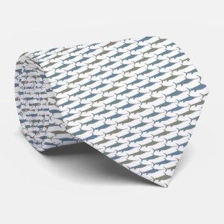 Swordfish Tie Armani Grey