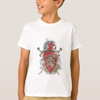 swords and red design T-Shirt
