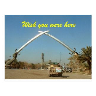 Swords of Iraq postcard