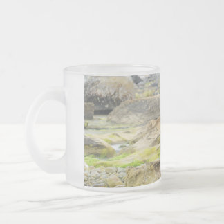 SWR and her Cubs Tuffy and Toughie Frosted Glass Coffee Mug