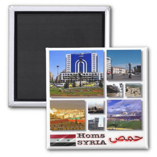 SY - Syria - Homs - Collage Mosaic Magnet