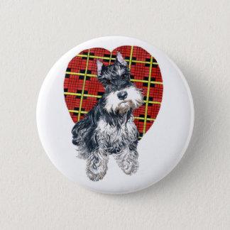 Sybil the Schnauzer Button