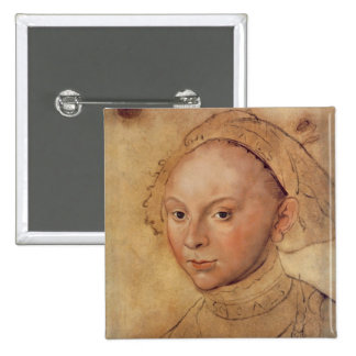 Sybille of Cleves 15 Cm Square Badge