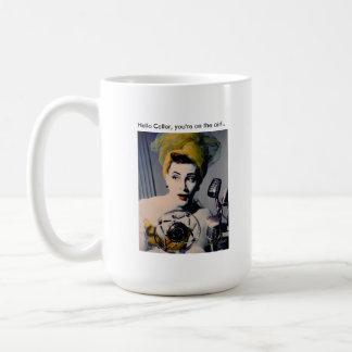 """Sybil's """"Hello Caller..."""" Mug. Coffee Mug"""