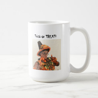 "Sybil's ""Trick or TREAT!"" mug"