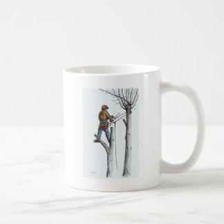 Sycamore and stihl 020t birthday present coffee mug