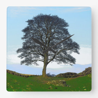 Sycamore Gap Wall Clock