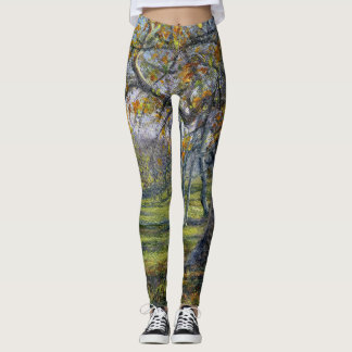 """""""Sycamores in the Fall"""" Leggings"""