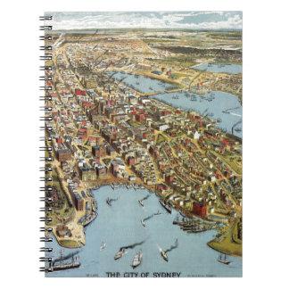 Sydney 1888 spiral notebook