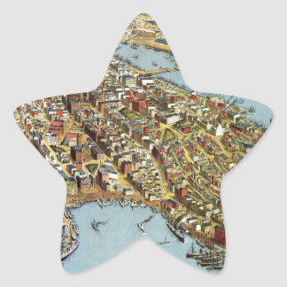 Sydney 1888 star sticker