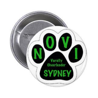Sydney 6 Cm Round Badge