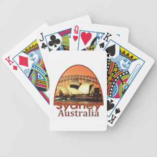 SYDNEY Australia Bicycle Playing Cards