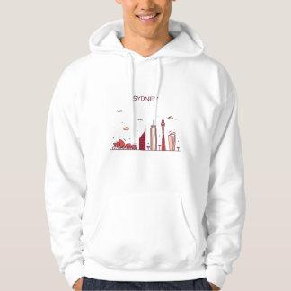 Sydney, Australia | Doodle Skyline Hoodie