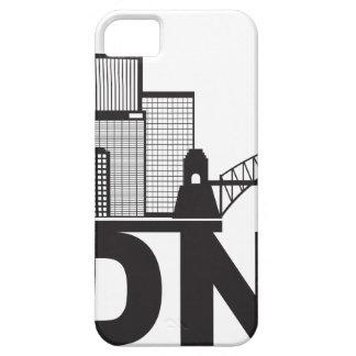 Sydney Australia Sklyine Text Outline iPhone 5 Cover