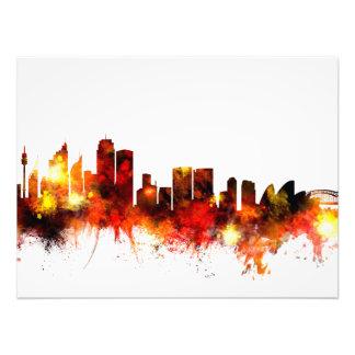 Sydney Australia Skyline Photo Print