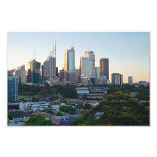 Sydney Business Center Skyscrapers Photo Print