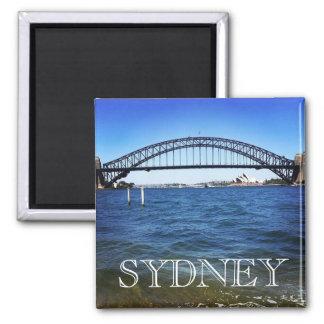 sydney coathanger square magnet