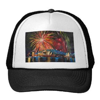 Sydney Firework at Opera House Cap
