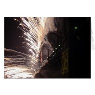sydney fireworks card